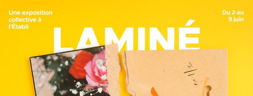 Affiche de l'exposition Laminé